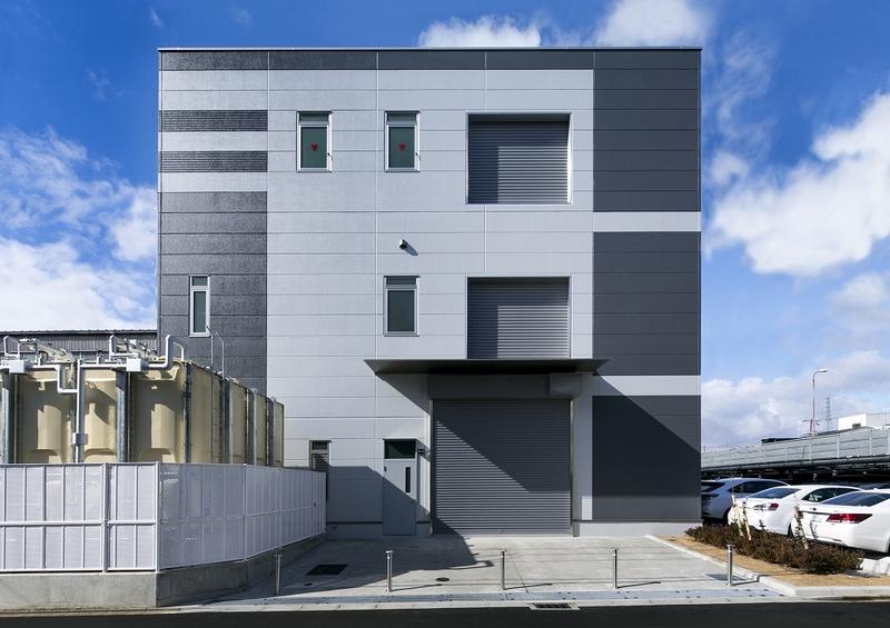 上田鍍金(株)新工場  京都府/工場/2017のサムネイル