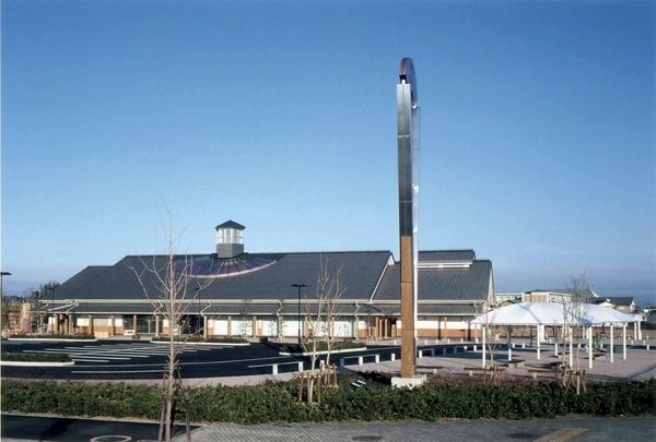道の駅「藤樹の郷あどがわ」 滋賀県/その他施設/2005